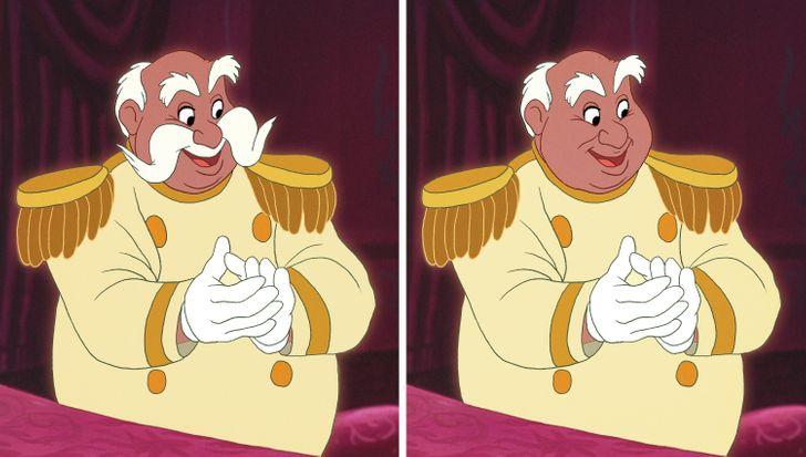 15 nhân vật Disney sẽ thế nào nếu không có bộ râu trứ danh? - 4