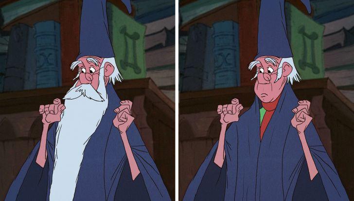 15 nhân vật Disney sẽ thế nào nếu không có bộ râu trứ danh? - 6