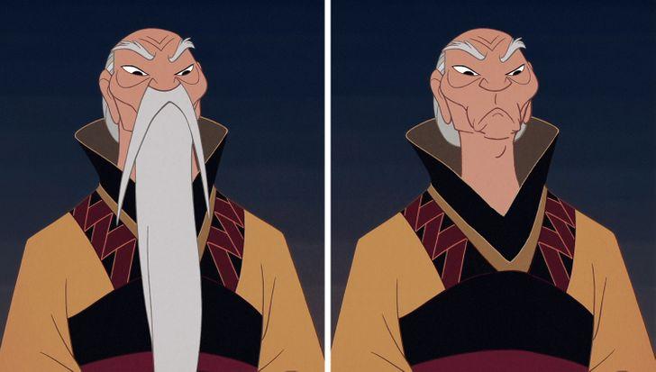 15 nhân vật Disney sẽ thế nào nếu không có bộ râu trứ danh? - 12