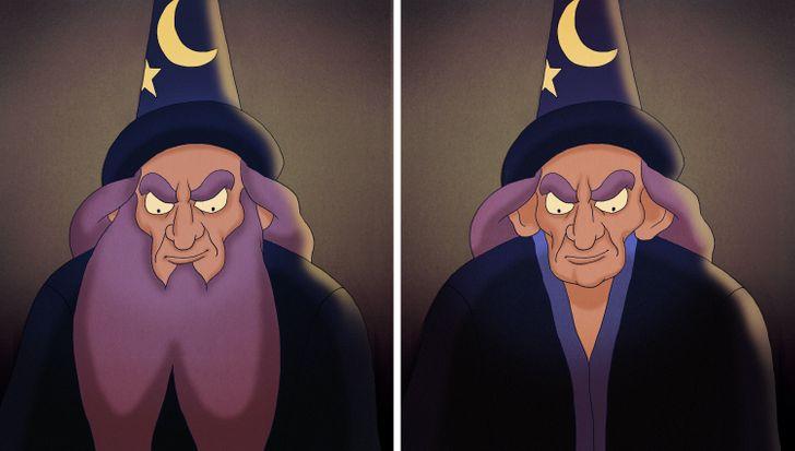15 nhân vật Disney sẽ thế nào nếu không có bộ râu trứ danh? - 16