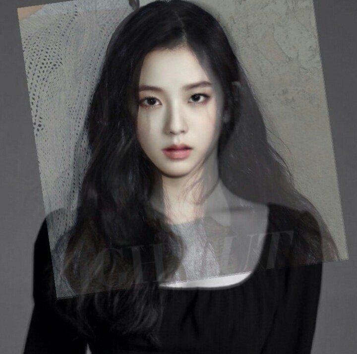 Ảnh ghép gương mặt của Ji Soo - Irene tạo nên phiên bản visual đỉnh cao, hội tụ đủ đường nét đỉnh nhất của hai nữ idol.