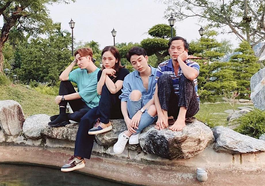 Ali Hoàng Dương, Miu Lê và Trúc Nhân dùng biểu cảm để thay câu trả lời khi được nghệ sĩ Hoài Linh hỏi: Dạo này tụi con đắt show không?.