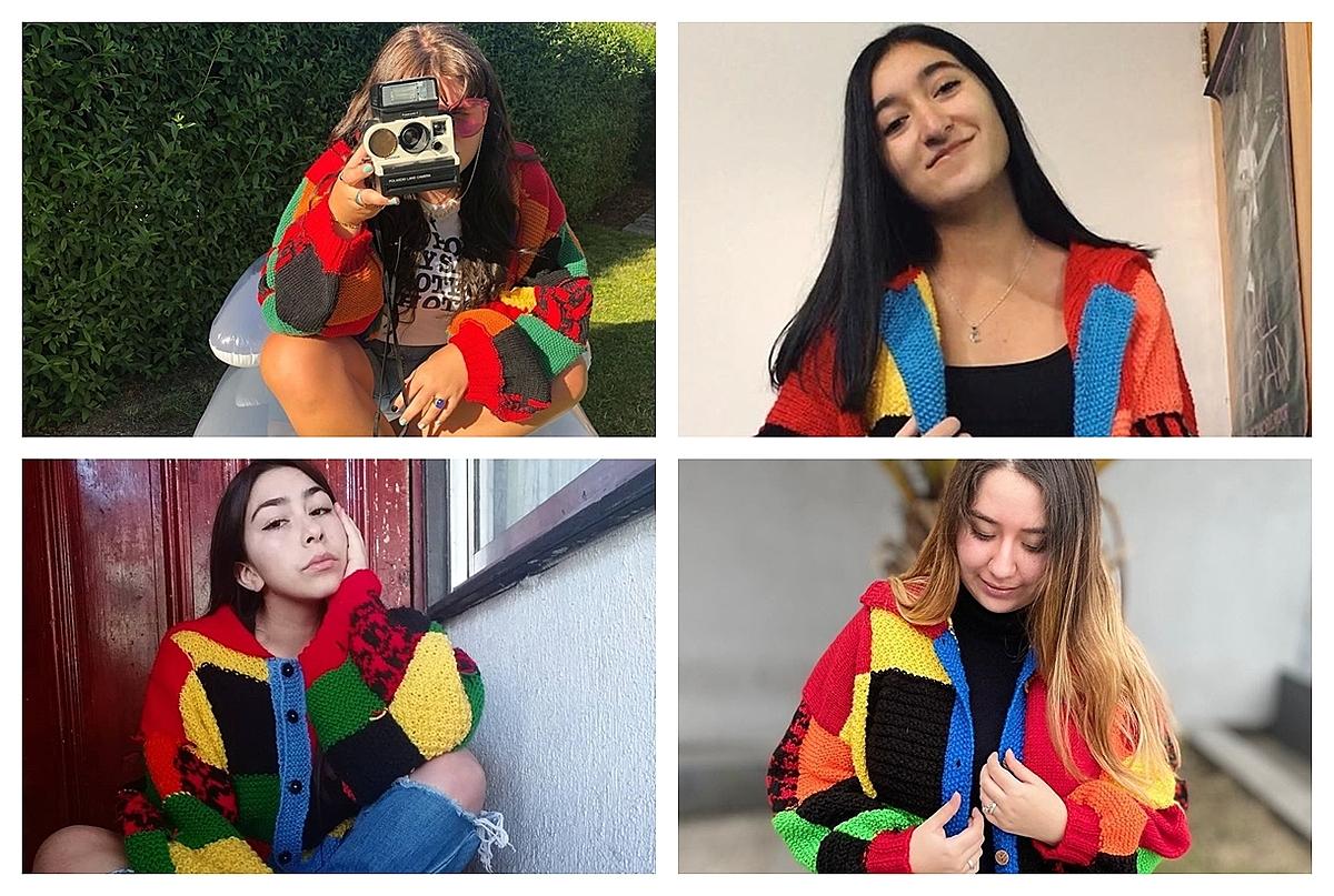 Rất nhiều người tự móc áo len giống Hary và chia sẻ lên mạng xã hội.