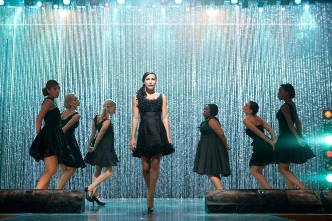Naya Rivera trong một tập phim Glee năm 2011.