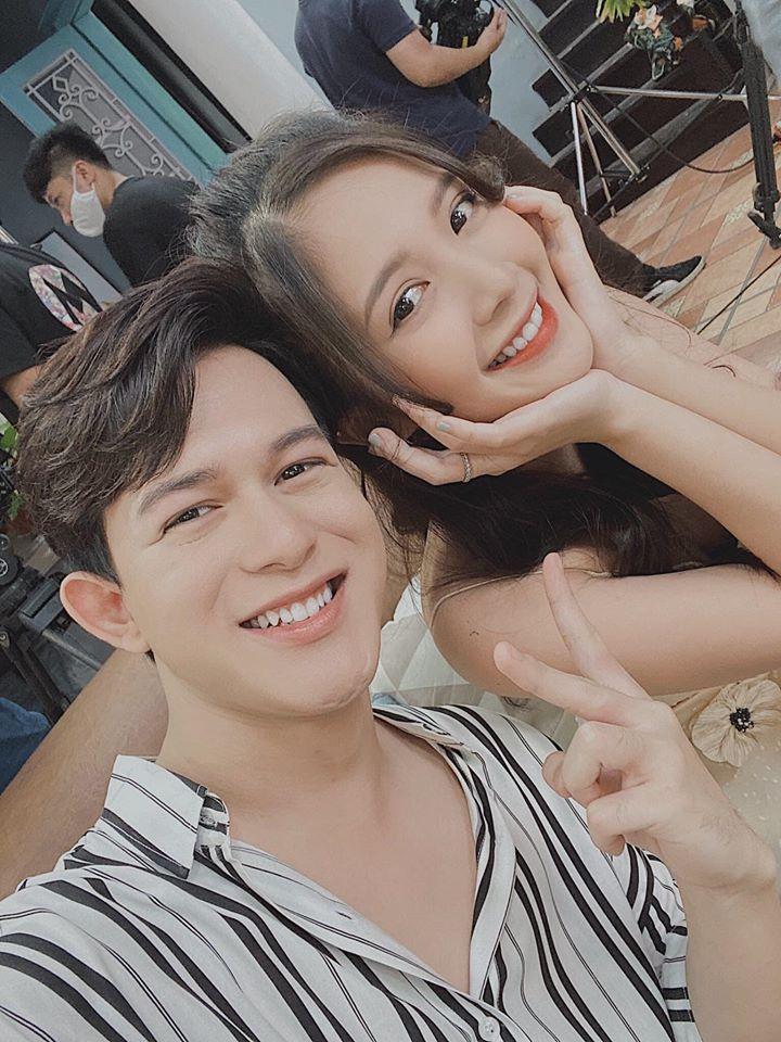 Ngọc Huyền thân thiết với Quang Anh, Bảo Hân sau bộ phim Những ngày không quên.