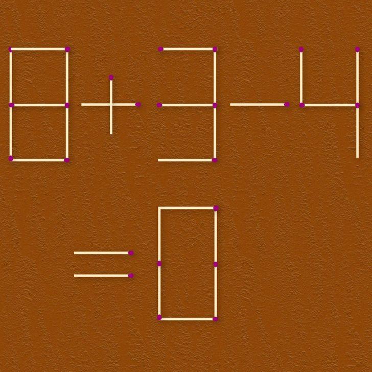 Bạn thông minh đến đâu khi xử lý bài toán que diêm? (3) - 7