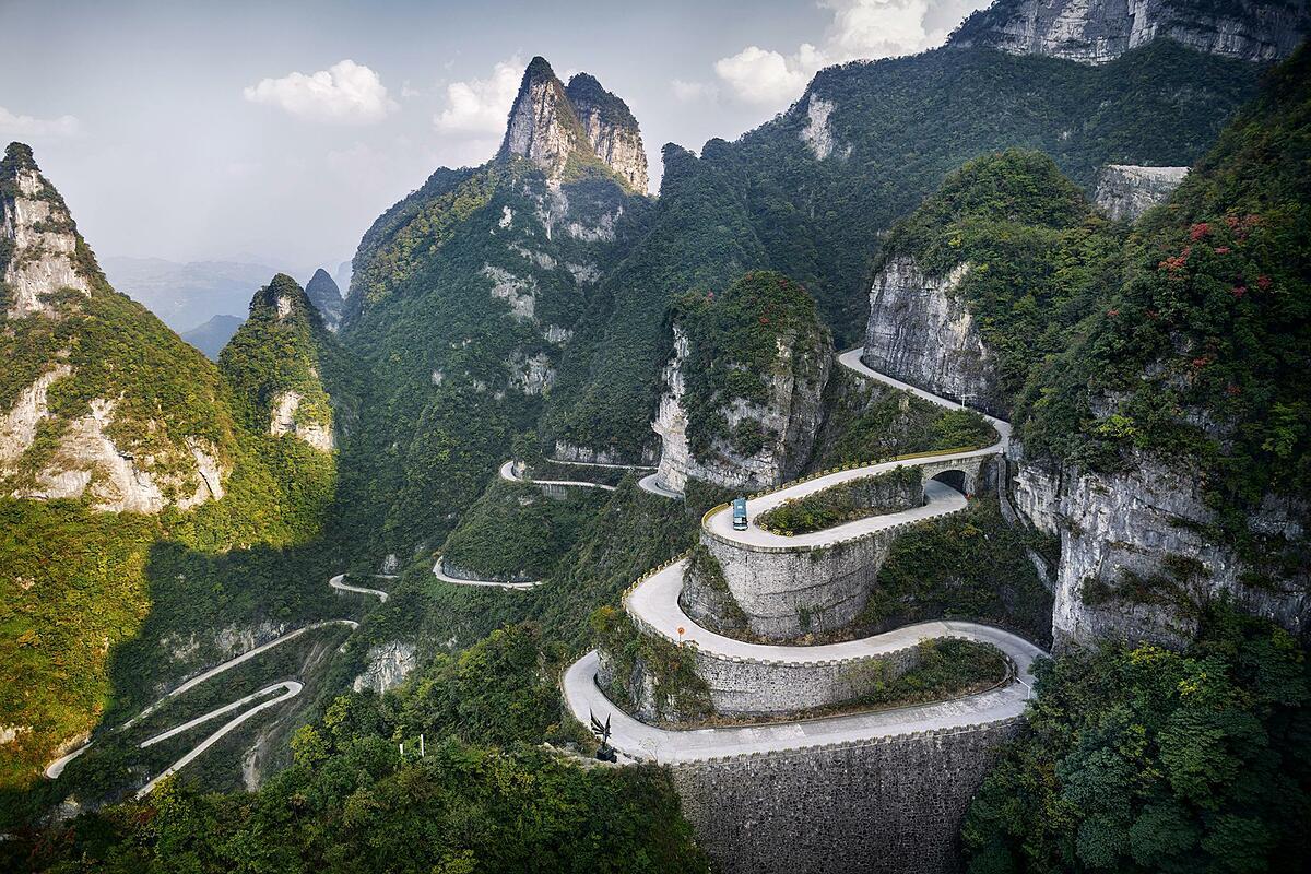 Con đường Hongjing ở Bắc Kinh.