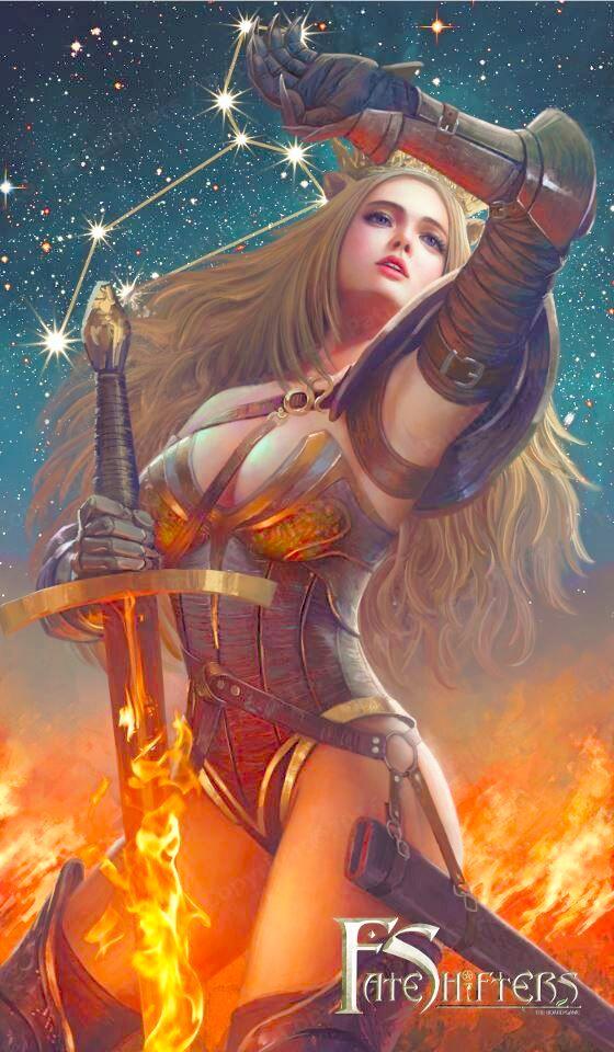 Sư Tử đẹp mạnh mẽ, khí chất trong trang phục của nữ chiến binh