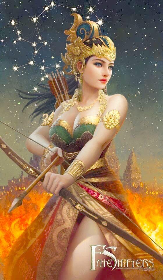 Xạ thủ Nhân Mã đại diện cho vẻ đẹp của các cô gái Thái Lan.