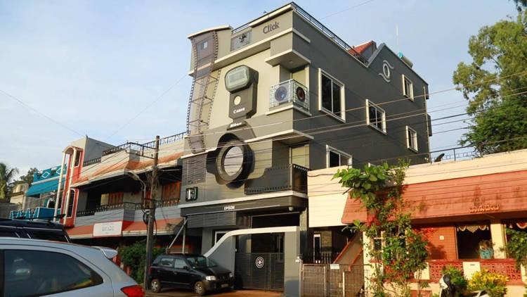 Ngôi nhà của nhiếp ảnh gia người Ấn Độ.