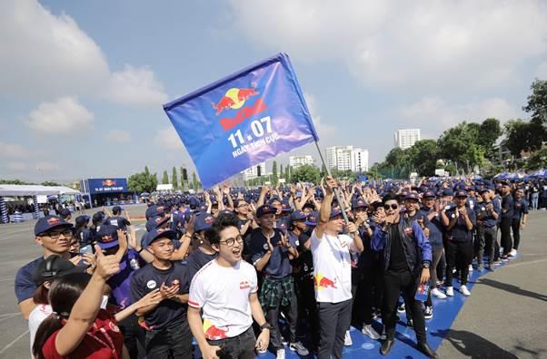 Điểm chốt chặng cuối cùng của hành trình lan toả trọn vẹn năng lượng tích cực và xác lập thành công kỷ lục Châu Á.