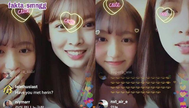Đến tháng 4/2020, SM công bố Go Eun đã rời công ty. Mới đây, cô nàng cùng xuất hiện với Lami (bên trái) trong một buổi phát sóng trực tiếp. Người hâm mộ tiếc nuối khi 2 visual tiềm năng rời công ty.