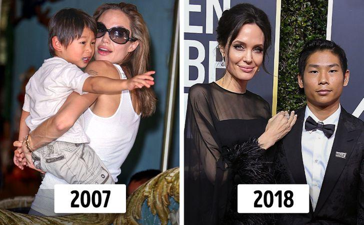 6 con của Angelina Jolie và Brad Pitt thay đổi thế nào? - 3