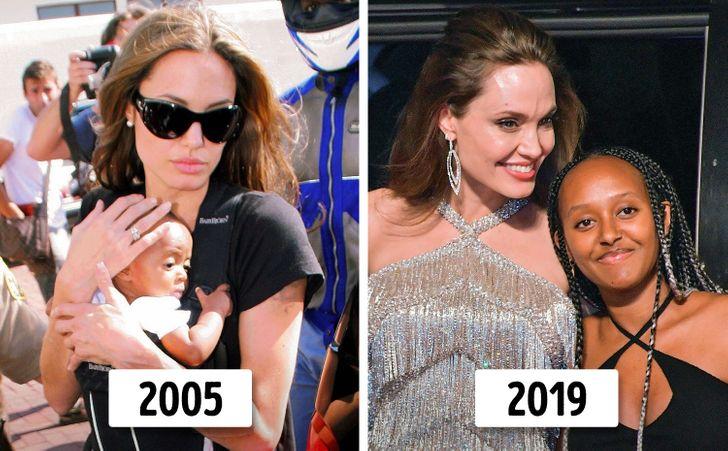 6 con của Angelina Jolie và Brad Pitt thay đổi thế nào? - 5