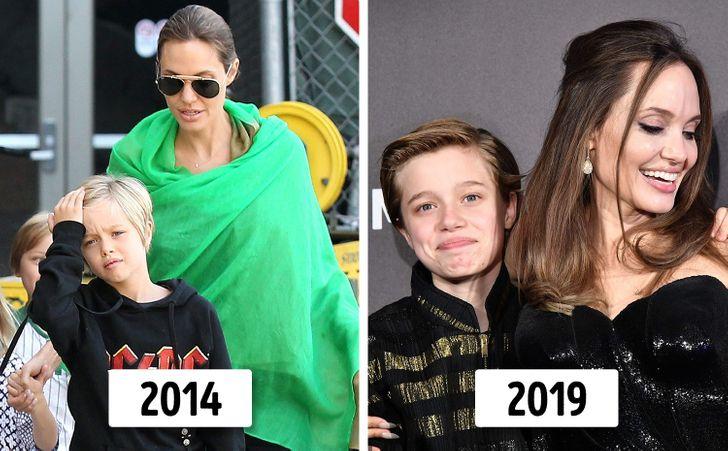 6 con của Angelina Jolie và Brad Pitt thay đổi thế nào? - 7