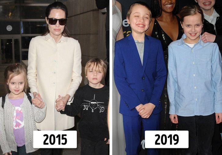 6 con của Angelina Jolie và Brad Pitt thay đổi thế nào? - 9