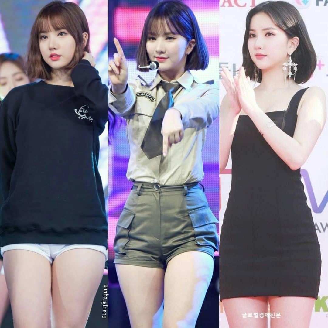 Trong nhiều năm sự nghiệp, Eun Ha gắn bó nhất với mái tóc ngắn ôm cụp vào gương mặt. Kể cả lên sân khấu hay đi sự kiện, nữ idol cũng không tạo kiểu quá cầu kỳ.