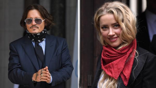 Johnny Depp, Amber Heard xuất hiện tại phiên tòa. Ảnh: Shutterstock.