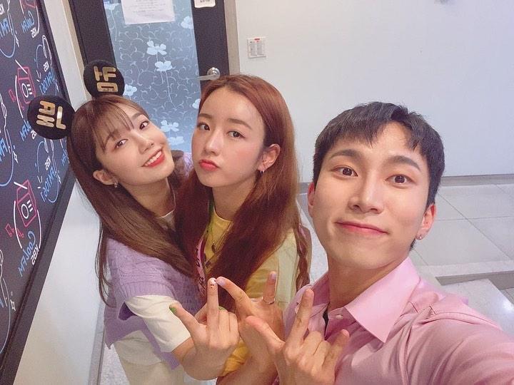 Eun Ji, Bomi (Apink) và Eun Kwang (BTOB) thân thiết vì cùng hội bạn 93-line.