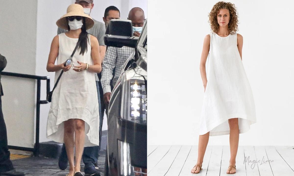 Chiếc váy được Meghan mặc giúp hãng chốt đơn không kịp.