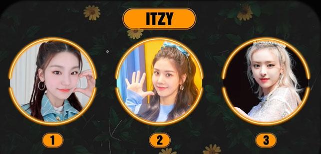 Ai không phải là thành viên của nhóm ITZY? - 9