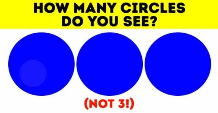 Có bao nhiêu hình tròn trong hình? - 5