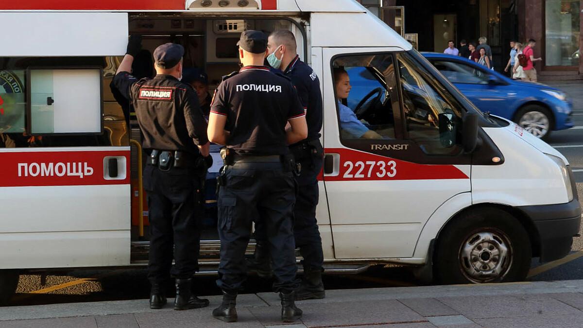 Cảnh sát tại hiện trường vụ việc. Ảnh: TASS.