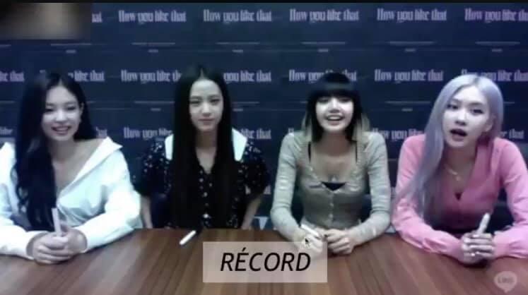 Black Pink tổ chức fansign theo hình thức online.