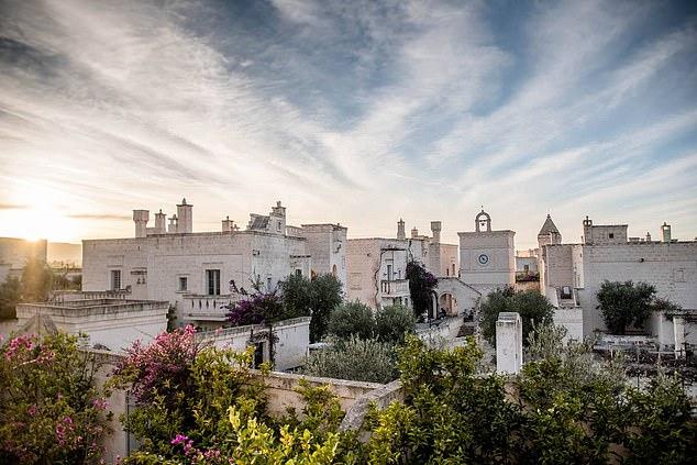 Resort tại Borgo Egnazia, Puglia, Italy - nơi gia đình nhà Becks đang nghỉ ngơi.