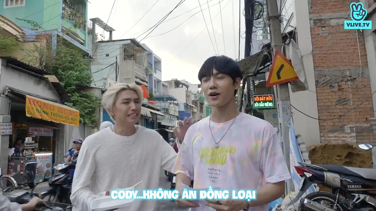 Thử thách tứ hai dành cho JSol và Cody là ăn món hủ tiếu sa tế nai. Bởi người hâm mộ gọi mình là Nam Nai, Cody ngăn cản JSol, nhất định không ăn thịt đồng loại.