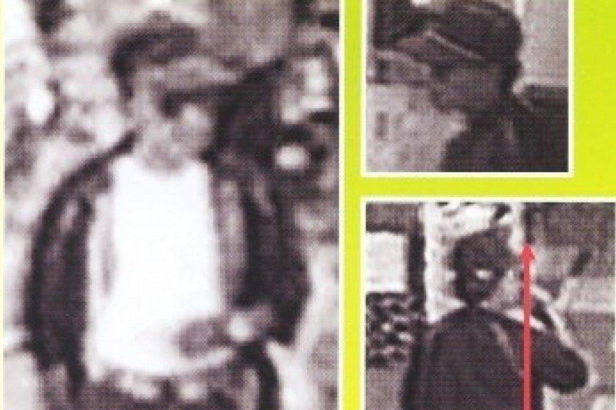 Tờ áp phích chân dung nghi phạm trong vụ mất tích của Yukari Yokoyama năm 1996.
