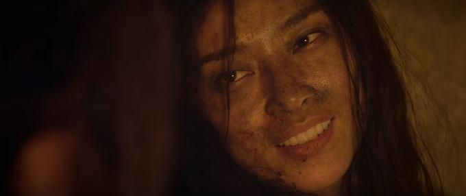Nữ diễn viên xuất hiện tổng cộng 3 phân đoạn trong The Old Guard.