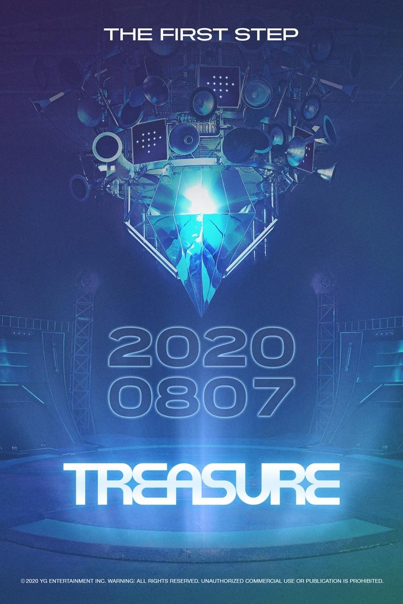 Poster giới thiệu concept debut của Treasure.