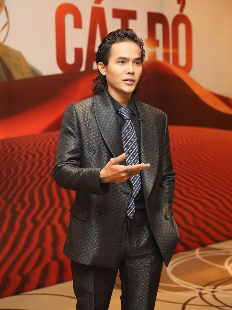 Diễn viên Hữu Thanh Tùng đóng vai tình địch của Võ Cảnh trong phim mới.