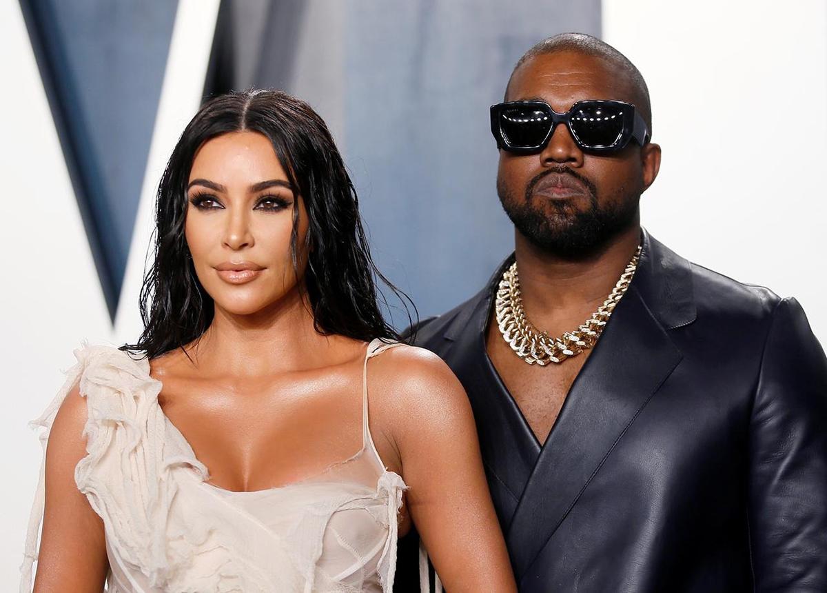 Kim, West vốn được coi là cặp đôi giàu có, quyền lực ở Hollywood. Ảnh: Reuters.