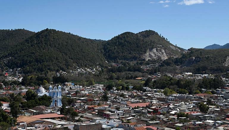 Phong cảnh hữu tình tại thị trấn San Cristóbal de Las Casas, bang Chiapas. Ảnh: CNN.