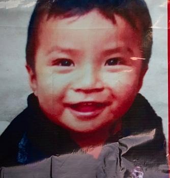 Bé Dylan, 2 tuổi, vẫn mất tích.