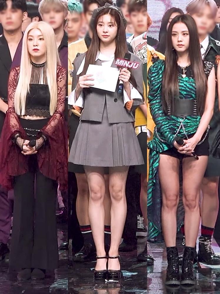Nhan sắc của ba nữ idol khi chung khung hình.