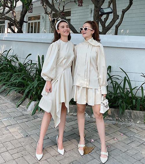 4 cặp chị em sao Việt đẹp đều với sở thích diện đồ đôi - 8