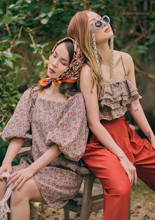 Nhiều set đồ đồng điệu đẹp mắt của Yến Trang - Yến Nhi được các cô gái học hỏi, bắt chước.