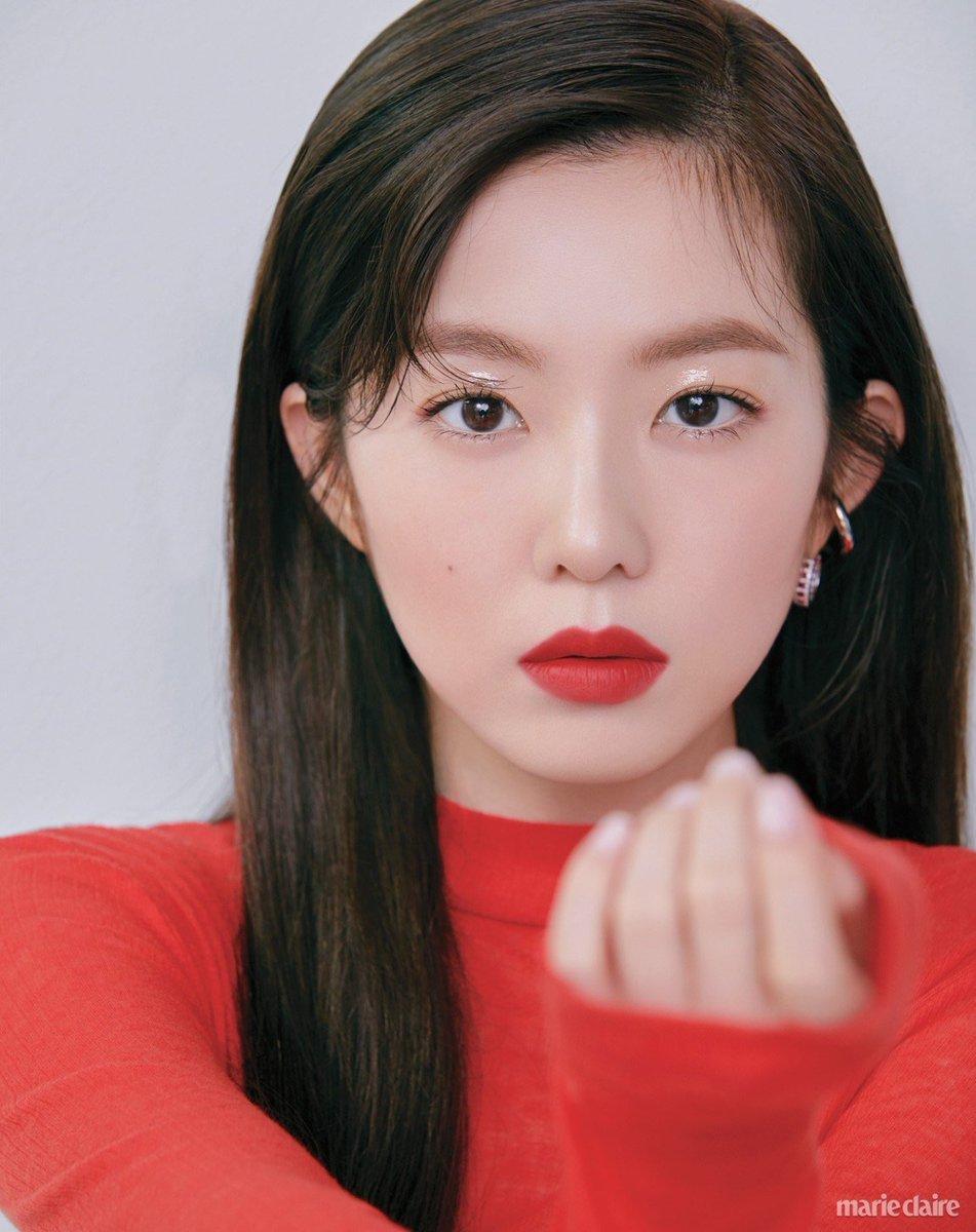 Irene sinh năm 1991, debut năm 2014 trong đội hình Red Velvet. Nữ idol sở hữu gương mặt hài hòa, đường nét xinh đẹp sắc sảo. Irene là mỹ nhân hàng đầu của Kpop thế hệ 3.