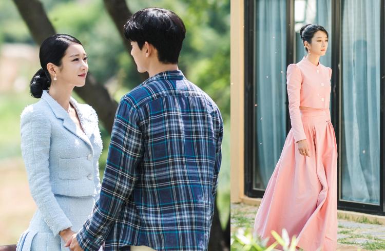 Gu ăn mặc của Moon Young thay đổi dần từ khi cô bắt đầu mối quan hệ lãng mạn với Kang Tae. Người đẹp dần chuyển qua các kiểu váy áo tươi sáng hơn, khoe dáng triệt để.