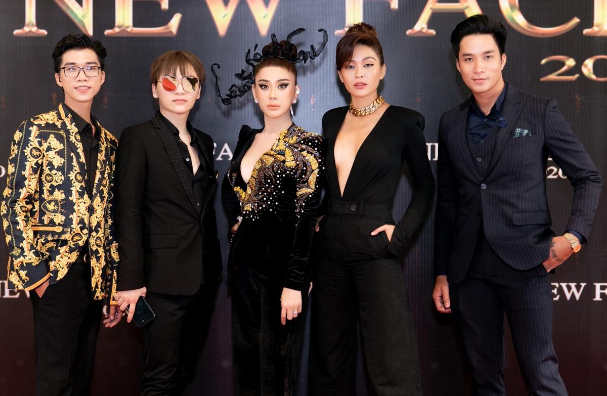 Ngày 26/7, vòng thi casting thứ nhất của cuộc thi New Face 2020 diễn ra tại TP HCM. Lâm Khánh Chi xuất hiện với tư cách là thành viên của bộ tứ giám khảo.