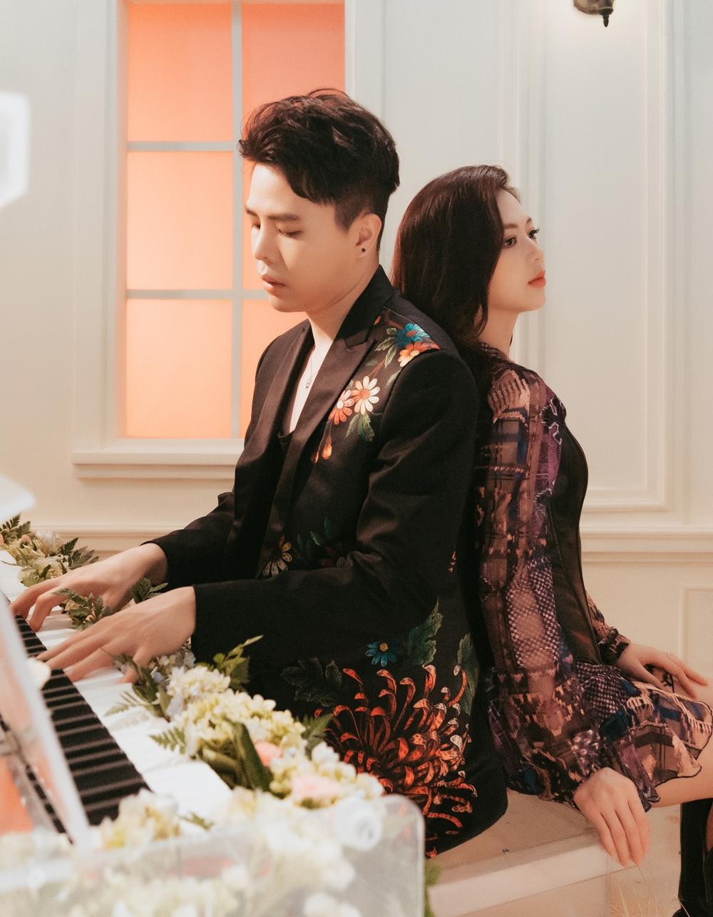 Trịnh Thăng Bình và Liz Kim Cương trong MV mới.