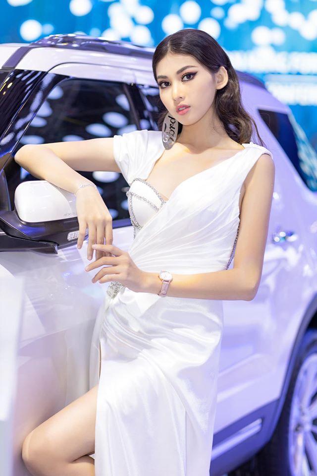 Nhiều khán giả đặt kỳ vọng chân dài sẽ là ứng viên tiềm năng cho ngôi vị hoa hậu kế nhiệm người đẹp bằng tuổi Trần Tiểu Vy.