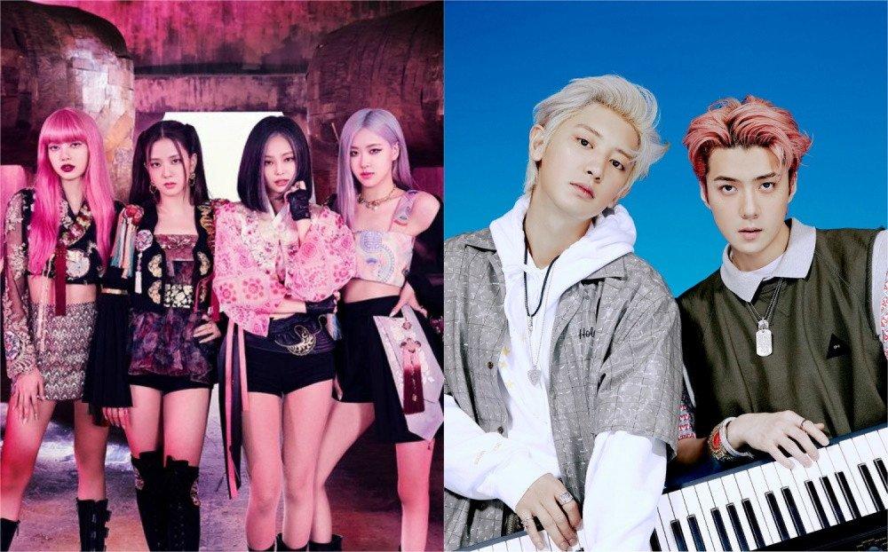 Black Pink và EXO-SC rơi vào tình huống dở khóc dở cười vì Music Bank trao nhầm cúp.