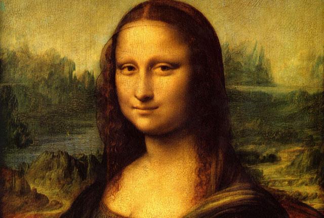 Mona Lisa của Leonardo da Vinci.