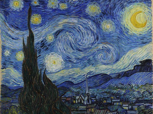Đêm đầy sao của Vincent Van Gogh