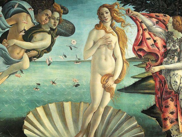 Sự ra đời của thần Vệ Nữ bởi Sandro Botticelli