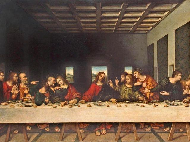 Bữa ăn tối cuối cùng của Leonardo Da Vinci